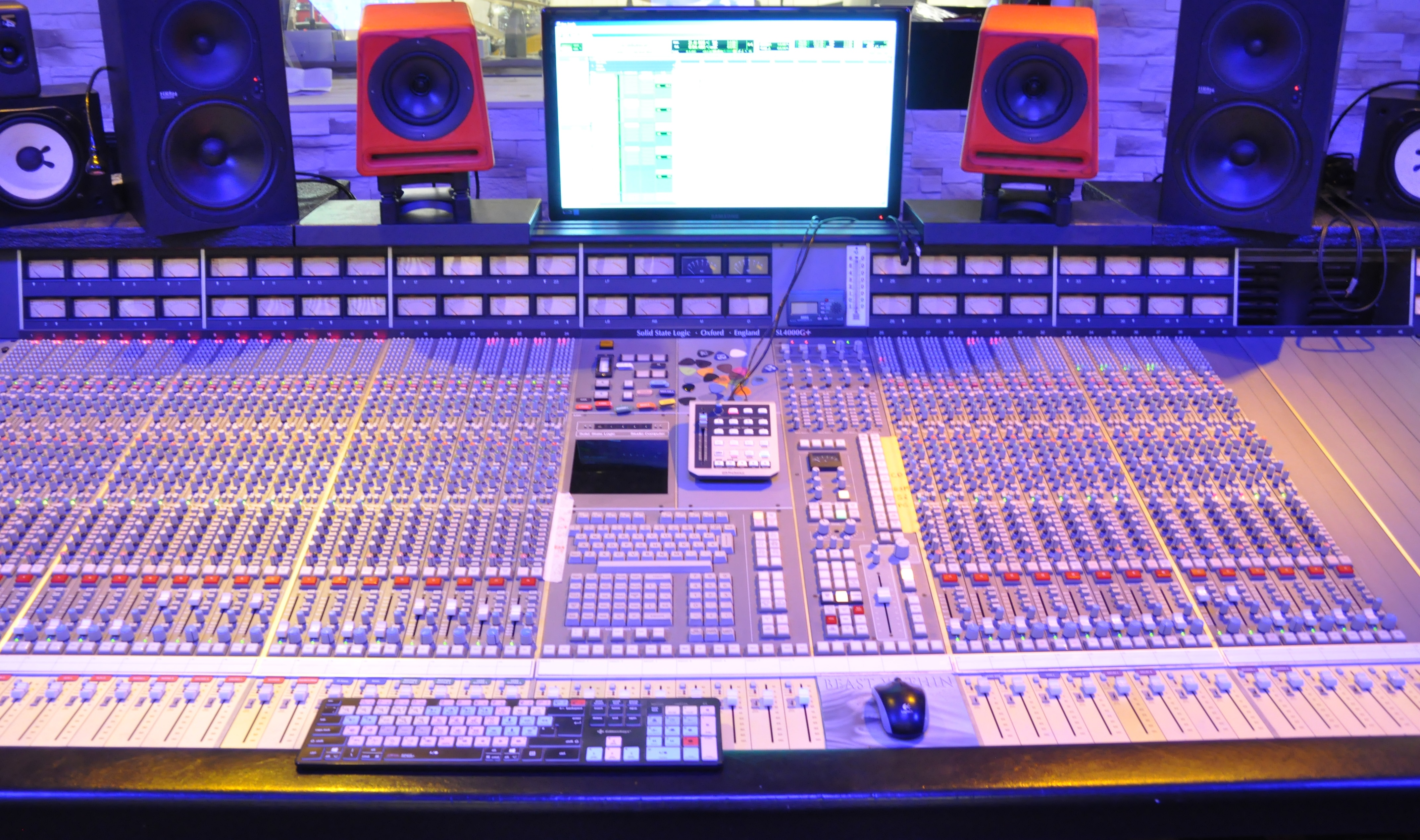 Mixage sur hardware analogique